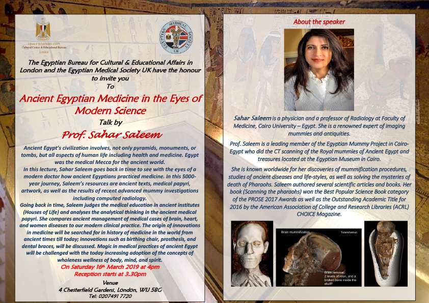 """Ancient Egyptian Medicine in the Eyes of Modern Science"